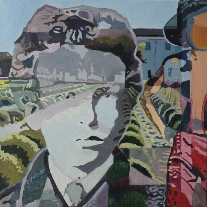 Vincent - akryl na płótnie, Piotr Smogór
