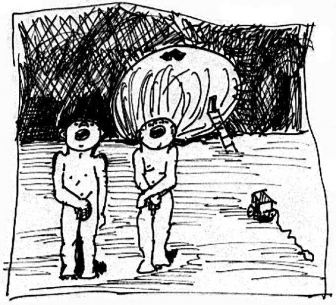 Dynia, cienkopis, Kłodzko ok.2002