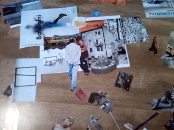 Piotr Smogór - collage, photo, painting