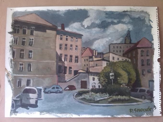 Piotr Smogór - malarstwo, krajobraz, Kłodzko