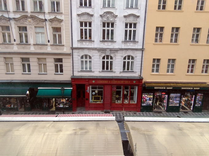 Praha, widok z okna - Piotr Smogór