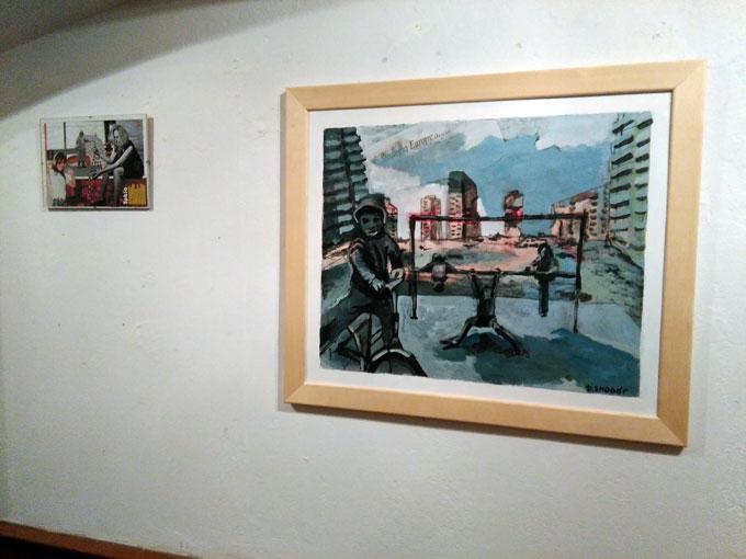 sprawy-mieszkańców wystawa collage Piotr Smogór