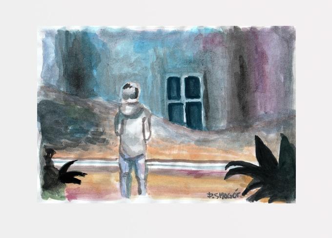 przed oknem - Piotr Smogór