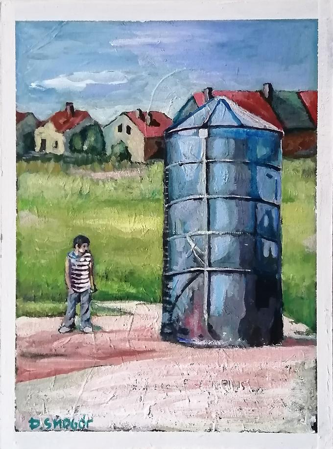 czerwone domy - Piotr Smogór