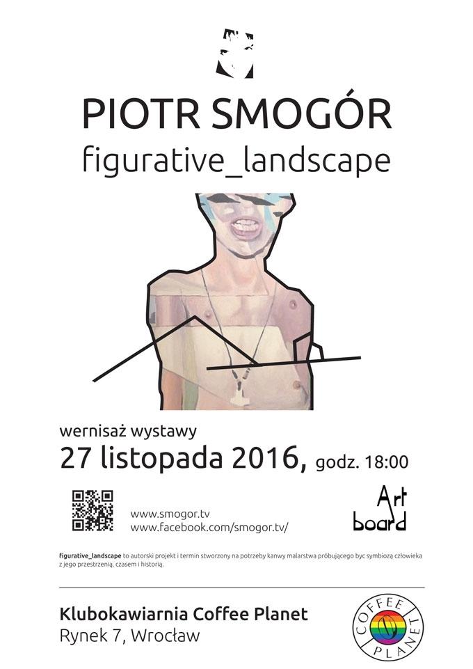 figurative landscape - Piotr Smogór