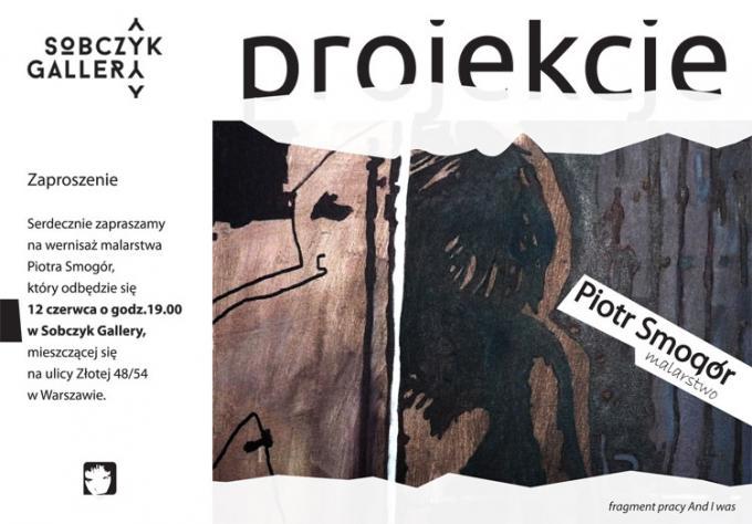 Piotr Smogór - wernisaż malarstwa 12 czerwca 2014 Warszawa