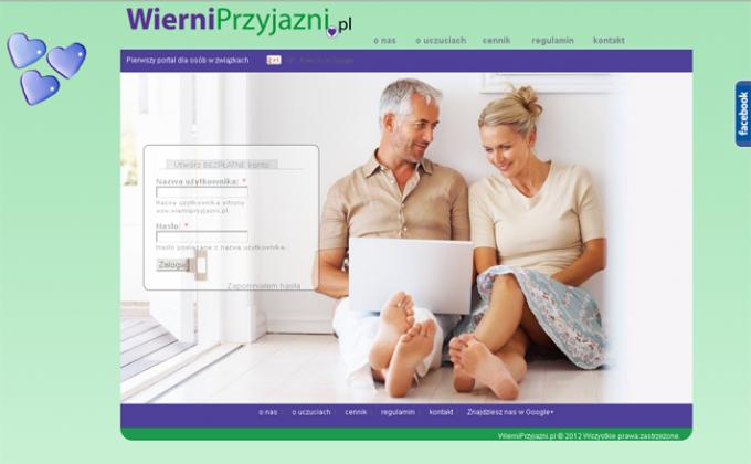 WierniPrzyjazni.pl, serwis randkowy