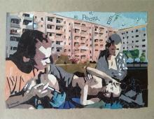 cykady, collage  - Piotr Smogór