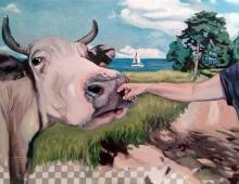 znikająca krowa - Piotr Smogór