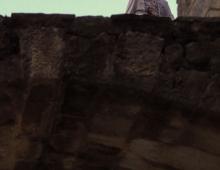 chłopak na murze - Potr Smogór