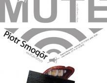 Plakat MUTE, grafika komputerowa, 2012, Wrocław