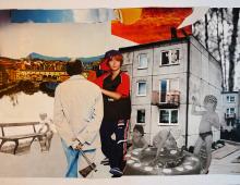 dzielnica,collage, format 42x29, 26.08.2014 Wrocław