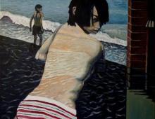 Miusza, akryl na płótnie, 70x80, 20011-04-22, Wrocław