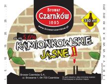 Kamionkowskie Jasne, etykieta piwa, 2012, Wrocław