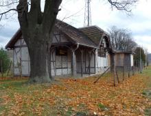 Stacja w Żelaźnie, Panasonic Lumix, 01.11.2012 Żelazno