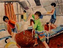 Szamotanina 5, pastel na papierze, 25.11.2009