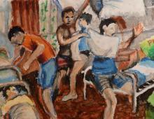 Szamotanina 3, pastel na papierze,17.10.2009