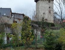 Wieża rycerska w Żelaźnie, Panasonic Lumix, 01.11.2012 Żelazno