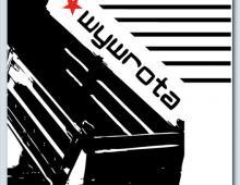 Okładka pisma Wywrotna, praca na konkurs, 2011